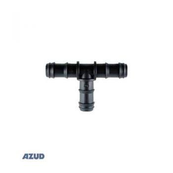 Tê ống mềm PE Azudfit 16mm