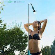 Vòi sen dài ngoài trời cao cao cấp 4 chế độ tưới Cellfast Ergo