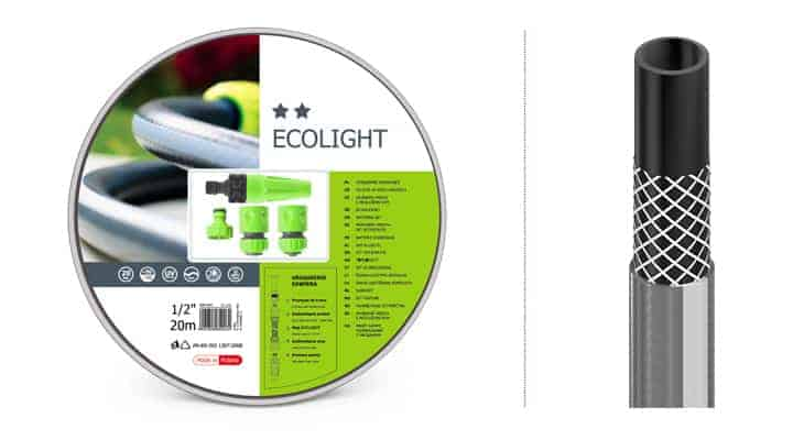 Trọn bộ ống tưới,vòi tưới chất lượng cao Cellfast Ecolight 3/4
