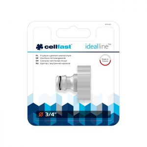 Cút nối nguồn nước ren trong 27mm chất lượng cao Cellfast Ergo