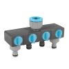 Thiết bị chia bốn nguồn nước Cellfast Ideal Line Plus 52-240N