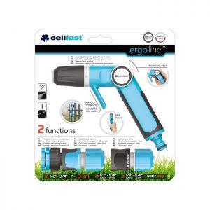 Trọn bộ vòi tưới tay gạt 2 chế độ chất lượng cao Cellfast