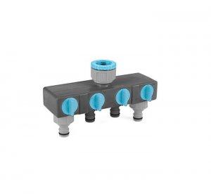 Thiết bị chia bốn nguồn nước Cellfast Ideal Line Plus