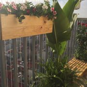 Chậu gỗ treo Famifarm Window box WB532