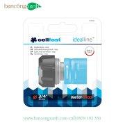 """Cút nối nhanh stop-nối nhanh ống nước với thiết bị tưới Cellfast Ideal Line 3/4"""" (50-625)"""