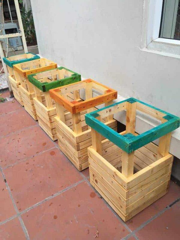 Chậu gỗ trồng cà chua cao cấp Famifarm Tomato Box TB93045