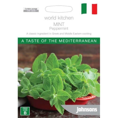 Hạt giống thảo mộc cao cấp-Bạc Hà The Mint - Mediterranean