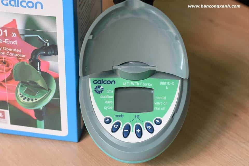 Đồng hồ hẹn giờ tưới Galcon 4