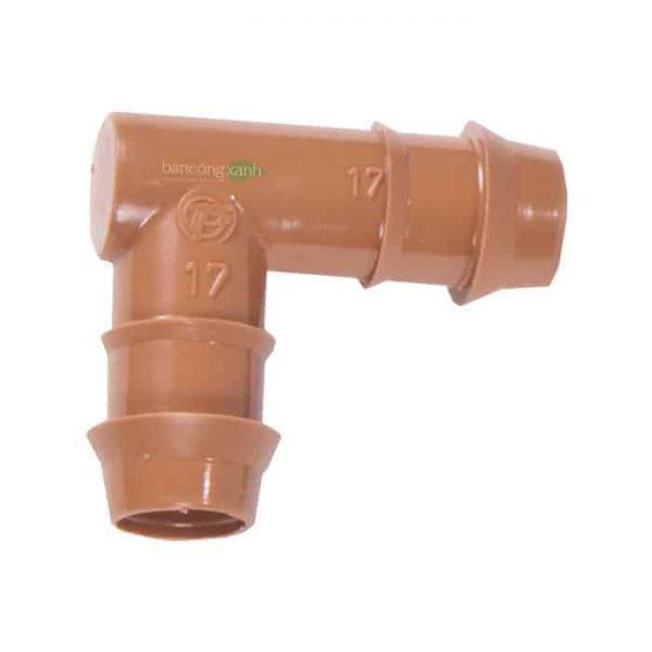 Co nối ống PE -DIG 17mm cho ống nhỏ giọt