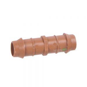 Cút nối ống pe, ống nhỏ giọt DIG 17mm màu nâu