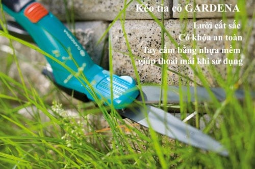 Kéo tỉa cỏ cao cấp