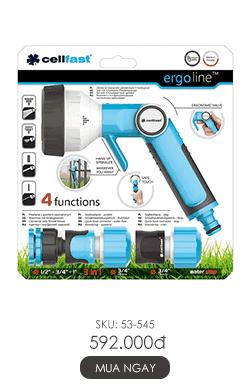 Vòi tưới tay gạt 4 chế độ Ergo 27mm 1.1