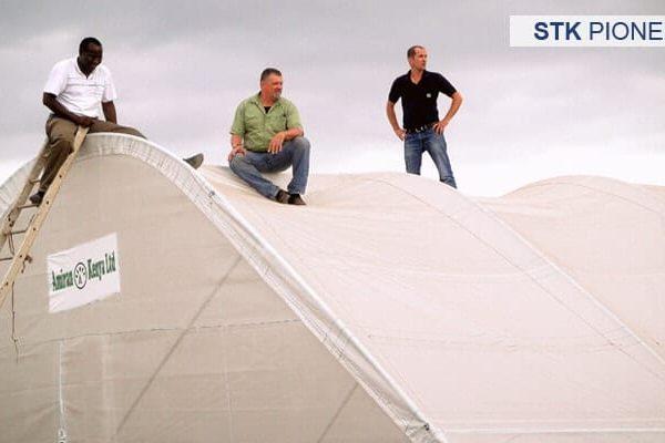 Màng phủ nhà kính Solarig Tunnel Kit STK Pioneer phù hợp cho mô hình có diện tích từ 120 - 192 mét vuông
