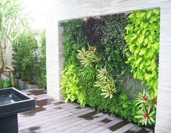 Những mẫu thiết kế vườn tường đẹp nhất 2019 b