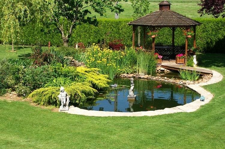 Thiết kế cảnh quan sân vườn theo phong thủy 1