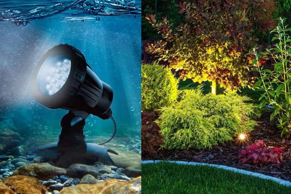 Đèn sưởi và đen trang trí hồ cá cảnh aquapro