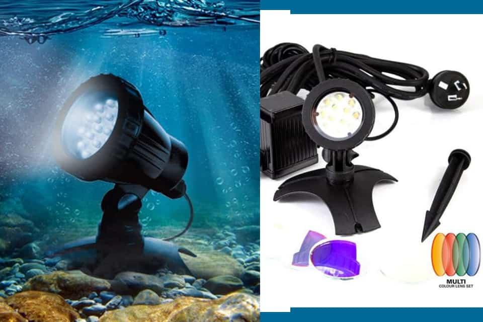 Đèn trang trí bể cá cảnh sân vườn Aquapro 12 led