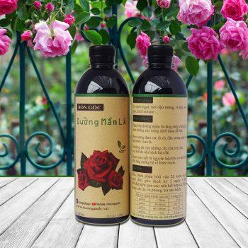 phân bón hữu cơ dưỡng mầm lá hoa hồng 1