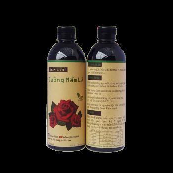phân bón hữu cơ dưỡng mầm lá hoa hồng