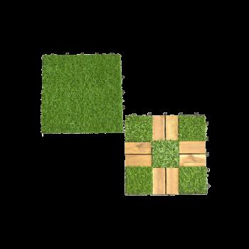 Vỉ cỏ nhân tạo lót sàn trang trí