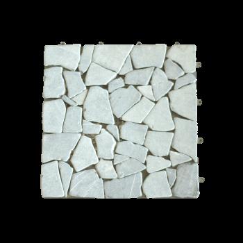 Vỉ đá lót sàn màu xám tự nhiên