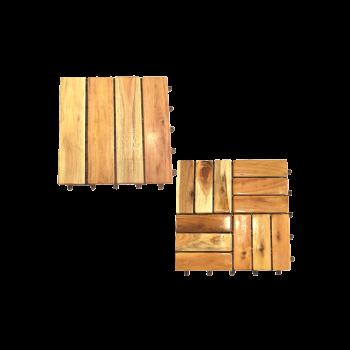 Vỉ gỗ lát sàn phủ dầu trang trí cao cấp