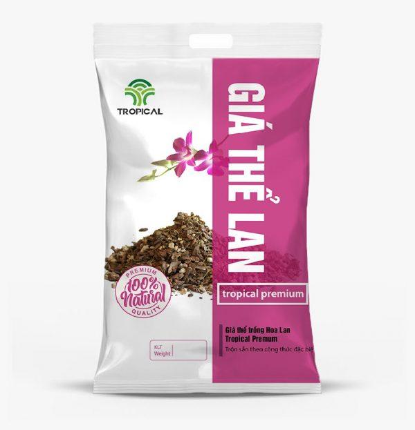 Giá thể trồng hoa lan Tropical Premium