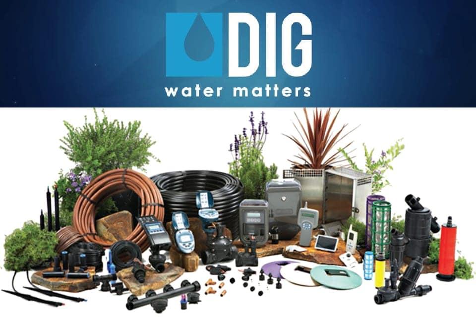 Giới thiệu các dòng thiết bị tưới của DIG