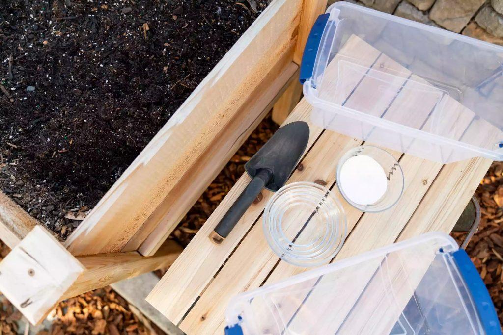 kiểm tra độ pH của đất đơn giản