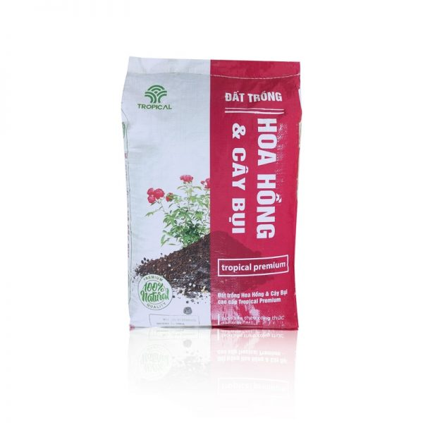 đất trồng hoa hồng Tropical Premium