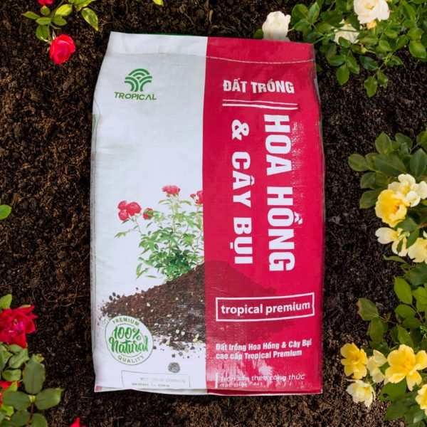 đất trồng hoa hồng Tropical Premium 2